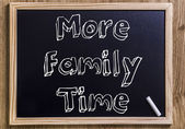 More Family Time — Stock Photo