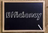 Efficiency — Stock Photo