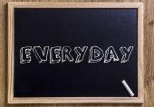 EVERYDAY — Stock Photo