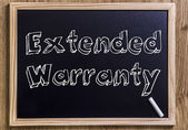 Extended Warranty — Stock Photo