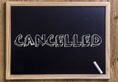 CANCELLED — Stock Photo