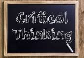 Critical Thinking — Stock Photo