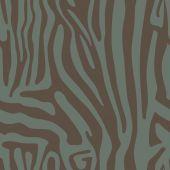 Modello senza cuciture con colore della pelle di Zebra — Vettoriale Stock