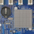 Computer motherboard — Stock Photo #78548290