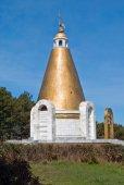 Церковь в память о погибших воинов — Стоковое фото