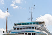 Modern cruise ship — Stock Photo