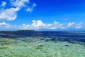 The beautiful scenery of the maldives — Stock Photo