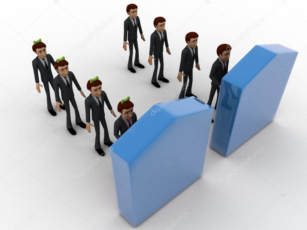 http://st2.depositphotos.com/5316746/8260/i/950/depositphotos_82606578-stock-photo-3d-men-in-two-queue.jpg