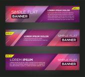 Abstract banner design — Stock Vector