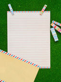 Letter paper — Stock Photo