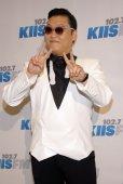PSY Park Jae-sang in Los Angeles — Stock Photo