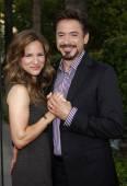 Robert Downey Jr. and Susan Downey — Stock Photo