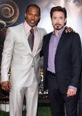 Robert Downey Jr. and Jamie Foxx — Stock Photo