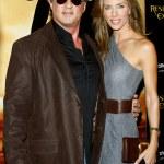 Постер, плакат: Sylvester Stallone and Jennifer Flavin at Las Vegas