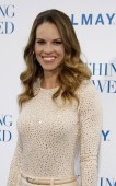 Hilary Swank at Los Angeles — Stock Photo