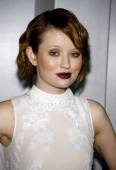 Emily Browning at the Los Angeles — Stock Photo