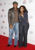 Oprah Winfrey and Tyler Perry — Stock Photo