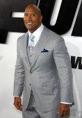 Dwayne Johnson in Hollywood — Stock Photo