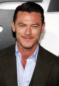 Luke Evans in Hollywood — Stock fotografie