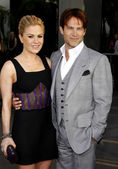 Anna Paquin and Stephen Moyer — Stock Photo