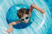 Child pool float — Stock Photo