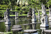 Water Palace of Tirta Gangga in East Bali, Indonesia — Stock Photo