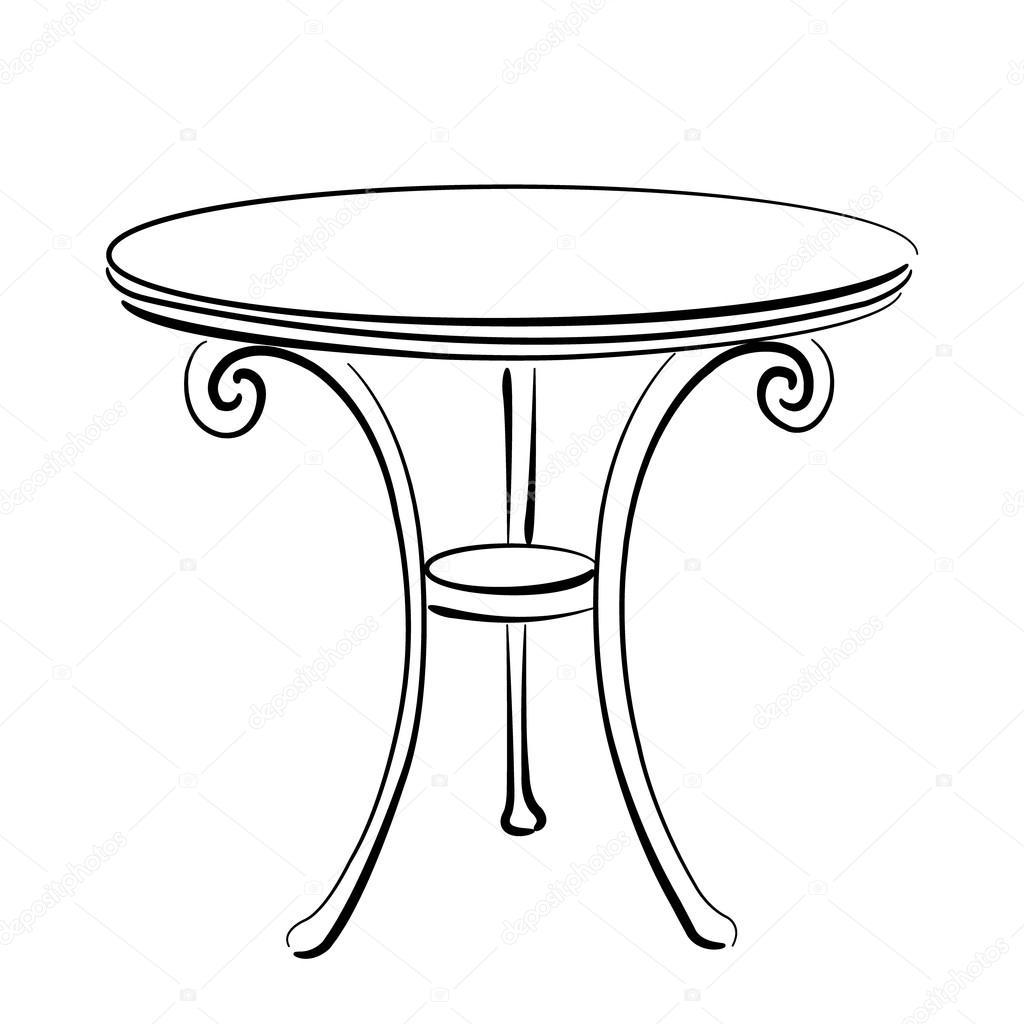 素描桌子的步骤