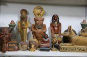 Tradiční suvenýry egyptské kultury — Stock fotografie