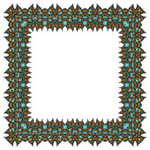 Ornamental vector frame — Stock Vector
