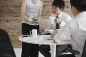 Business People Having Board Meeting — Stock Photo