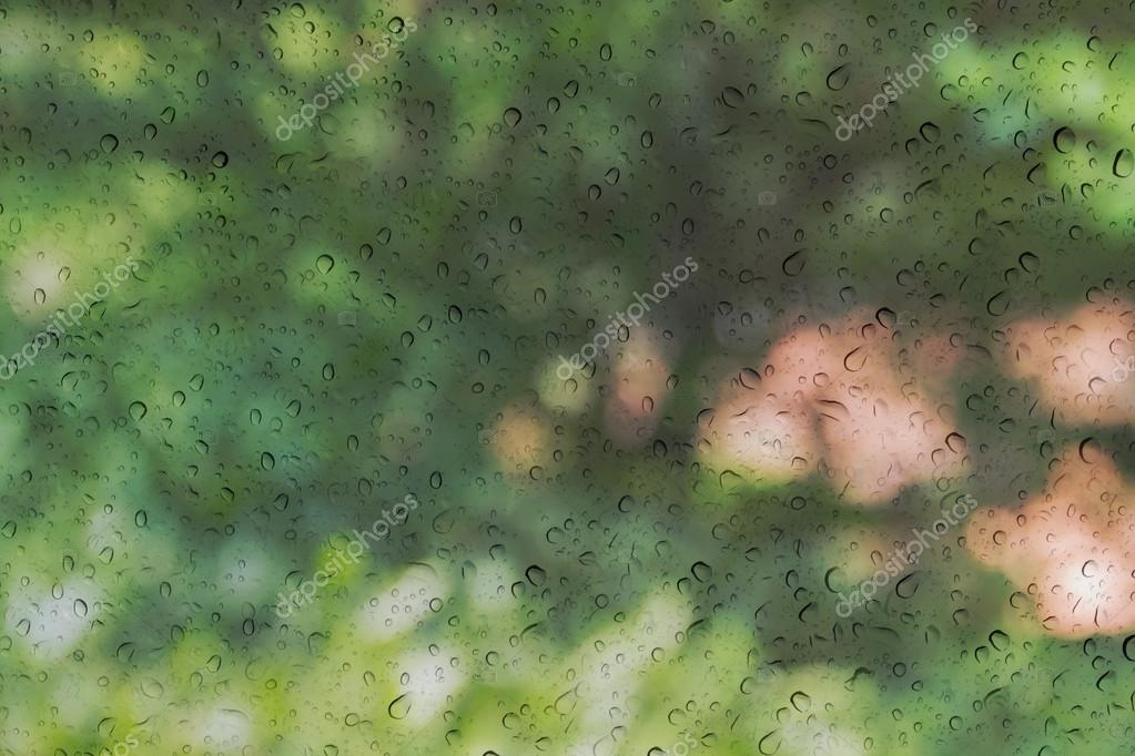 Glass window drops bokeh rain wallpaper | 2560x1440 | 148573 ...
