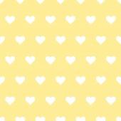 Hearts vector seamless pattern. — Stock Vector