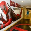 ������, ������: Deadpool Movie Promotional Mural