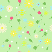Spring Flowers — Stock Vector