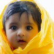 Photo of cute and happy indian baby boy with expressive eyes — Stock Photo #79547392