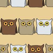 Vector illustration owl — Stock Vector