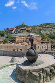 Monument de faisan en abanotubani — Photo