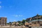 Tabor monastery behind Abano — Stock Photo