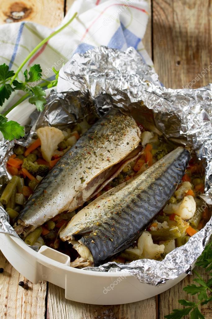 Диетическая рыба в фольге