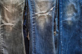 Jeans background and texture — Stock Photo