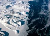 Greenland coastline view — Stock Photo