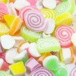 Assortment of colorful fruit jelly candy — Stock Photo #79318418