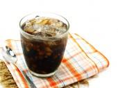 喝凉茶混合健康谷物 — 图库照片
