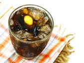 Drink herbal tea Mixed  grains — Stock Photo