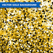 Vector Gold Glittering background — Stock Vector