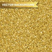 Gold glitter texture — Stock Vector