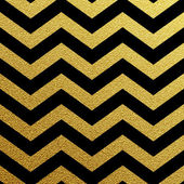 Altın ışıltılı zikzak dalga — Stok Vektör
