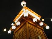 Japanese lamp — Stock Photo