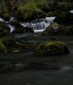 Long exposure stream In Alaska — Stock Photo