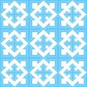 Seamless geometric four sides arrow pattern — Stock Photo